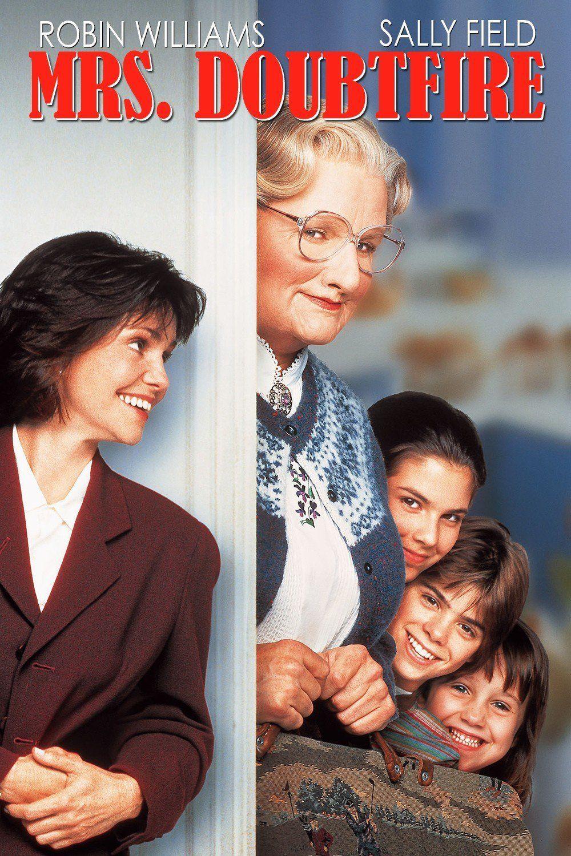 Pin By Carlson Clay On Movie To Go Mrs Doubtfire Robin Williams Mrs Doubtfire Movie