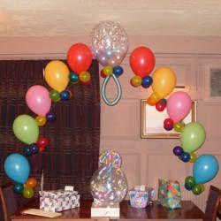 Ornamentacion con balones para baby shower baby shower for Ornamentacion con globos