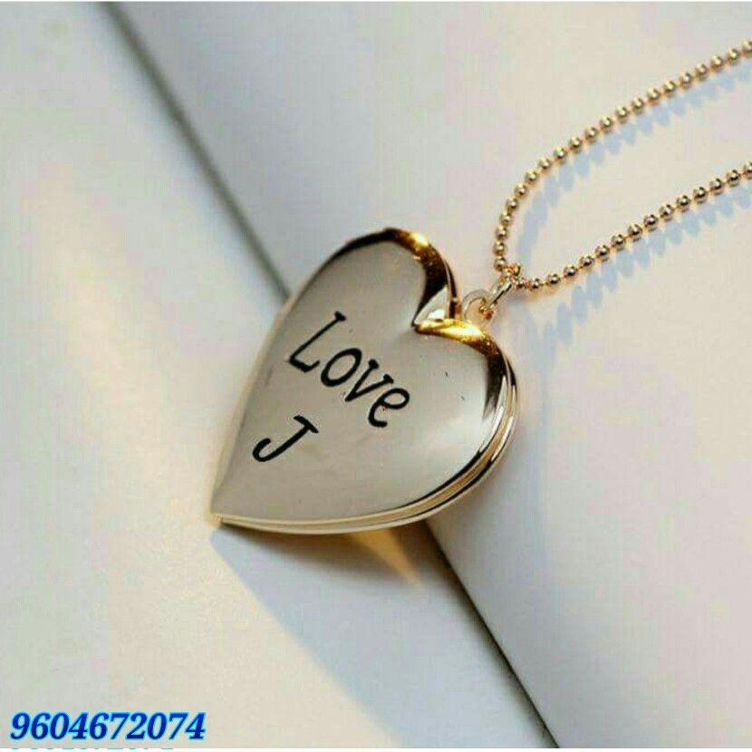 Love Wallpaper J Letter Images In Heart