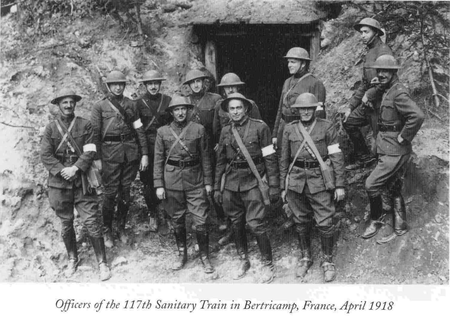 American Expeditionary Force 117th Sanitary Train World