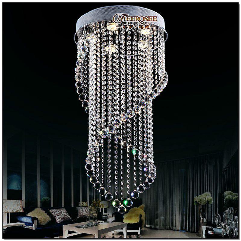 Modernas l mparas de techo de cristal de la l mpara - Como hacer lamparas de techo modernas ...
