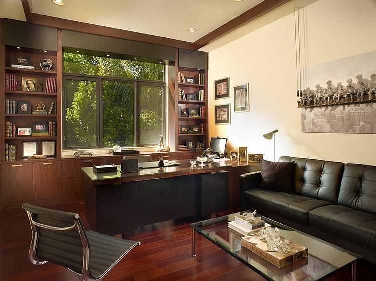 Adelson Residence By Jeffrey King Interiors Home Office