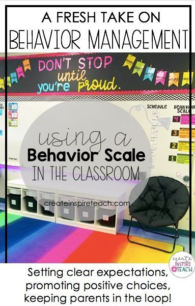 Behavior Management: Using a Behavior Expectations Scale in the Classroom
