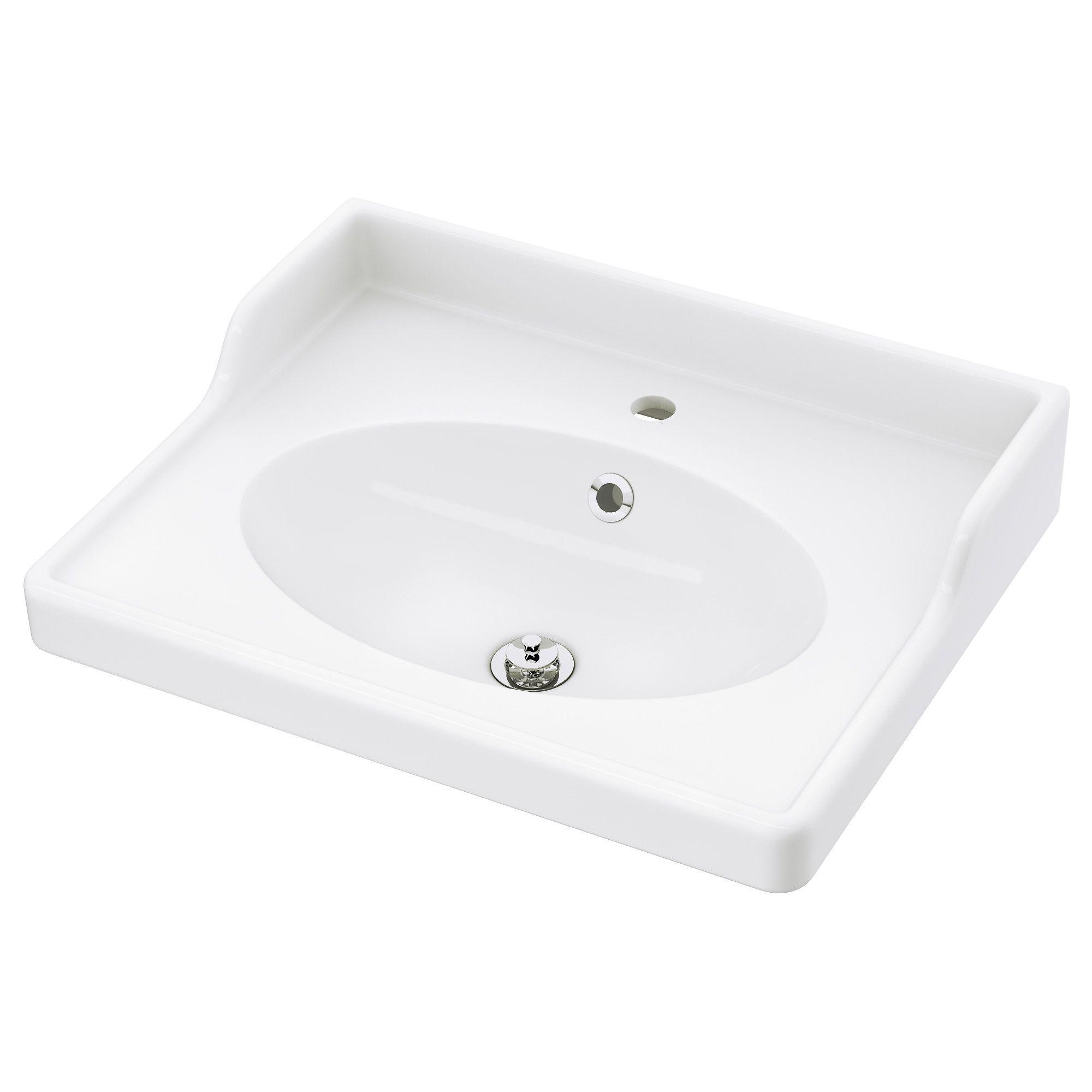 Rattviken Vasque Blanc 62x49x6 Cm Meuble Lavabo Plan Vasque Et Lavabo