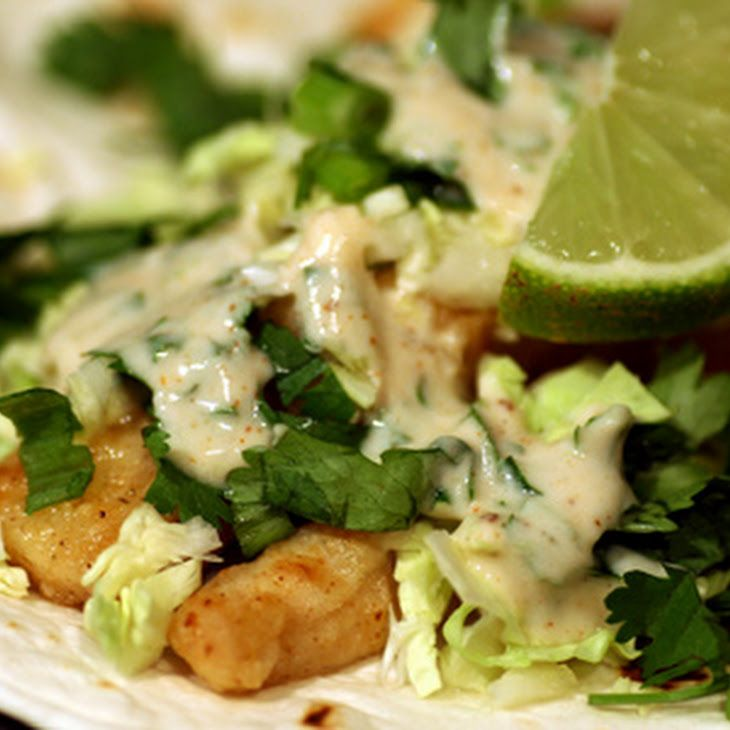 Spicy Lime Fish Tacos Recipe Food