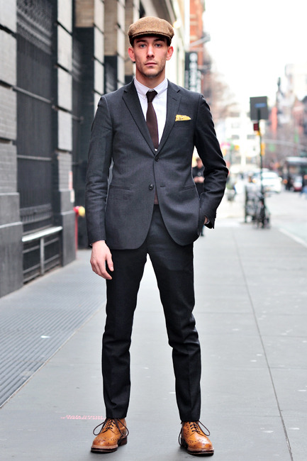 Like: the shoes as part of this. Dislike: the hat. The whole thing is still a bit plain.