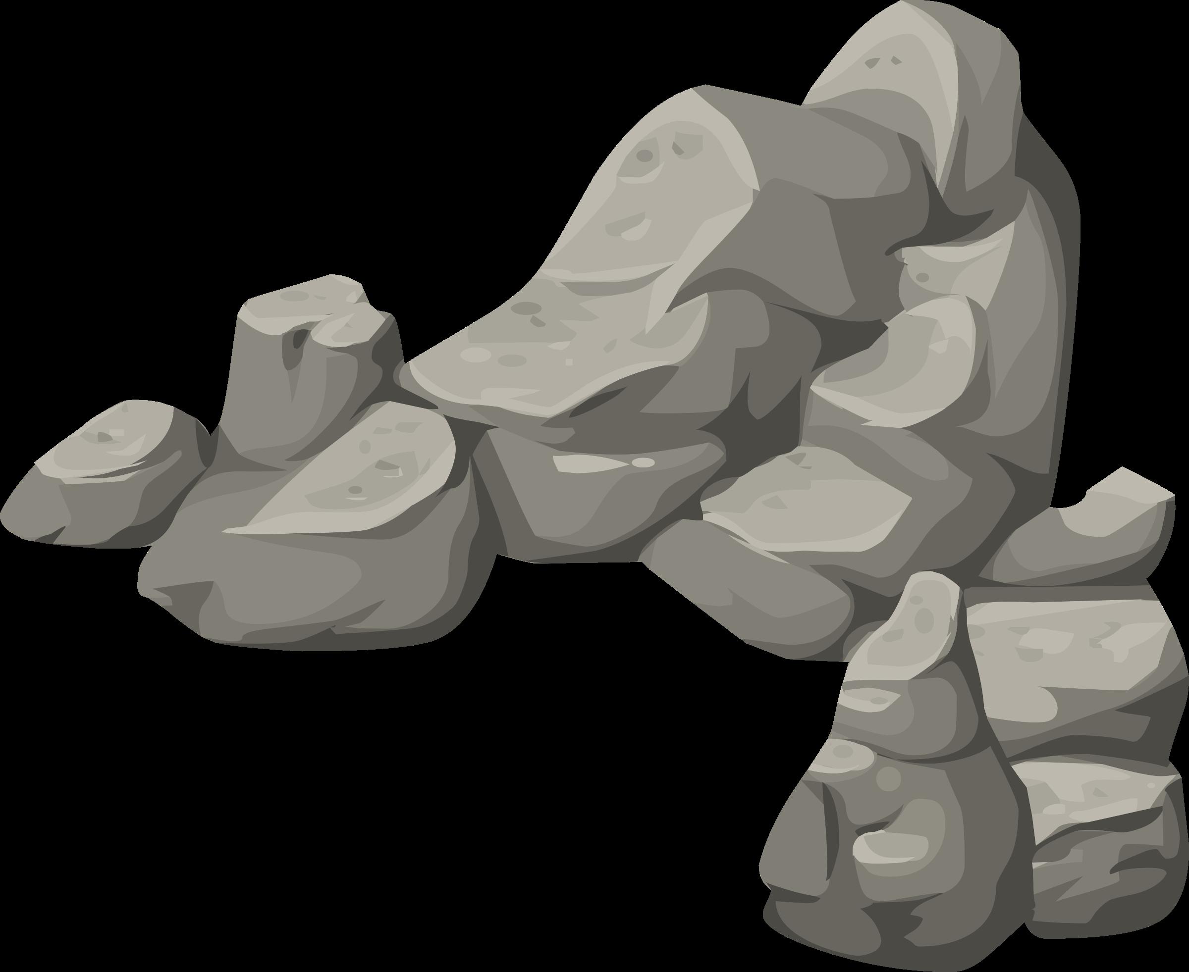 Alpine Landscape Rock Rubble Corner 01a Al1 By Glitch Landscape Rock Rock Clipart Drawings