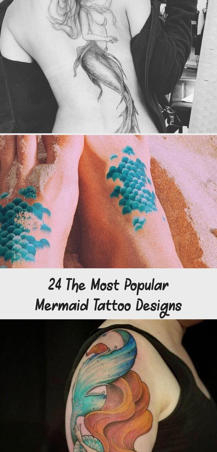 Photo of 24 The Most Popular Mermaid Tattoo Designs – Tattoos