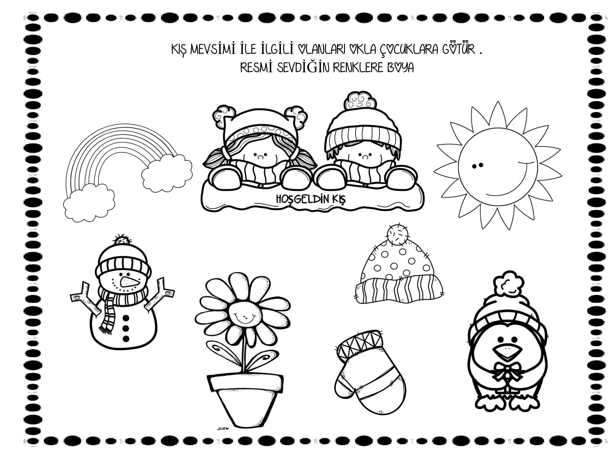 kış mevsimi | Mevsimler | Pinterest | Winter, Winter ...