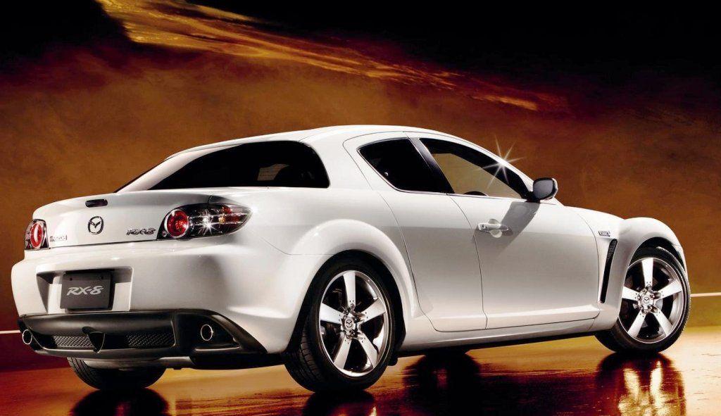 Mazda Rx 8 Spirit R Rear Right White マツダ マツダ Rx