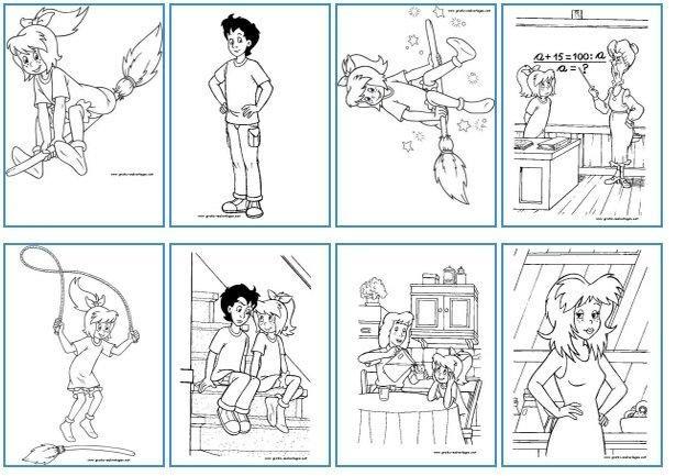 Bibi Und Tina 14 Ausmalbilder Zum Ausdrucken Ausmalbilder Ausmalen