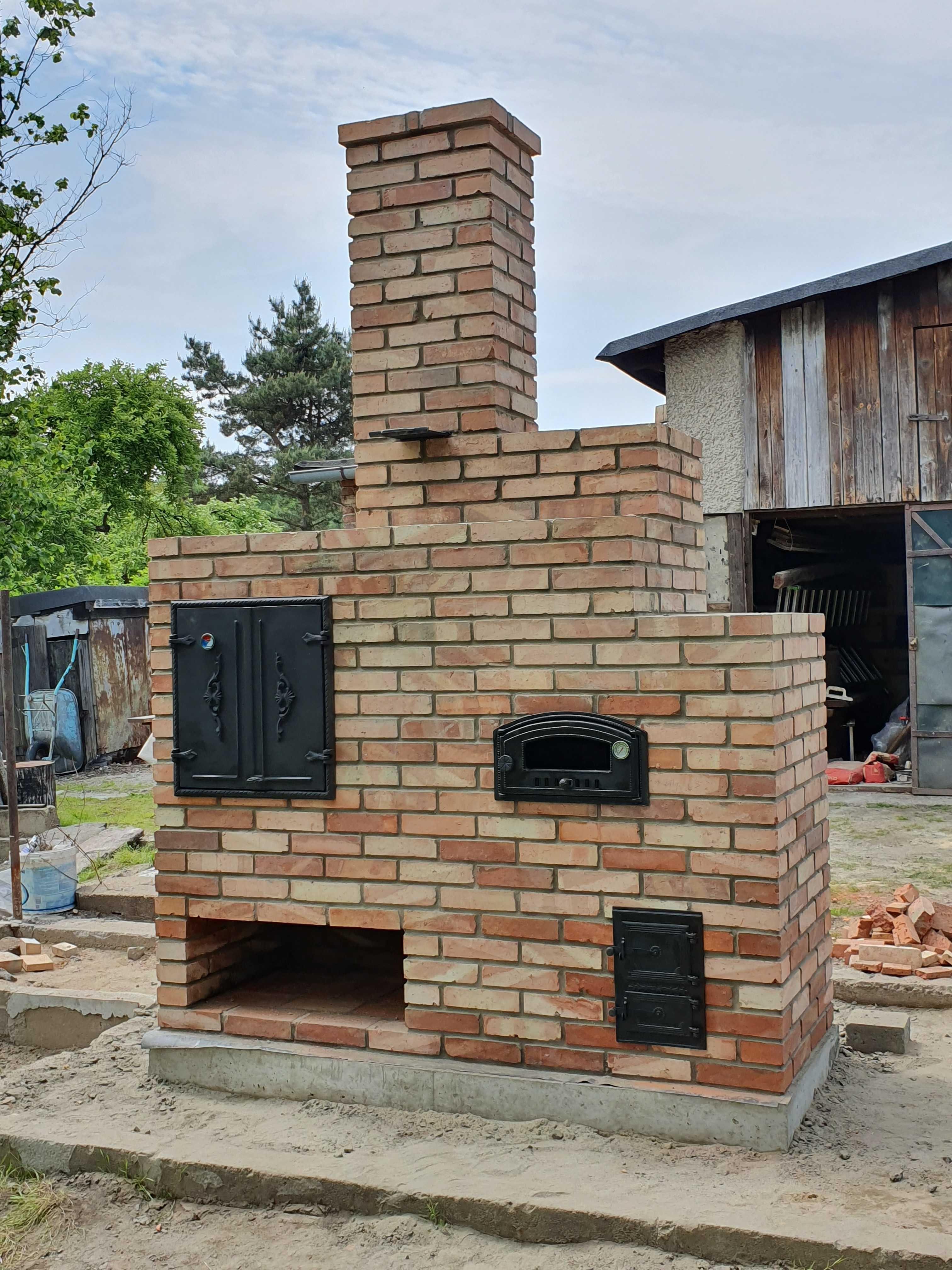 Grill Murowany Z Cegly Wedzarnia Piec Pizza Kuchnia Ogrodowa Gliwice Bojkow Olx Pl Outdoor Decor Patio Fireplace