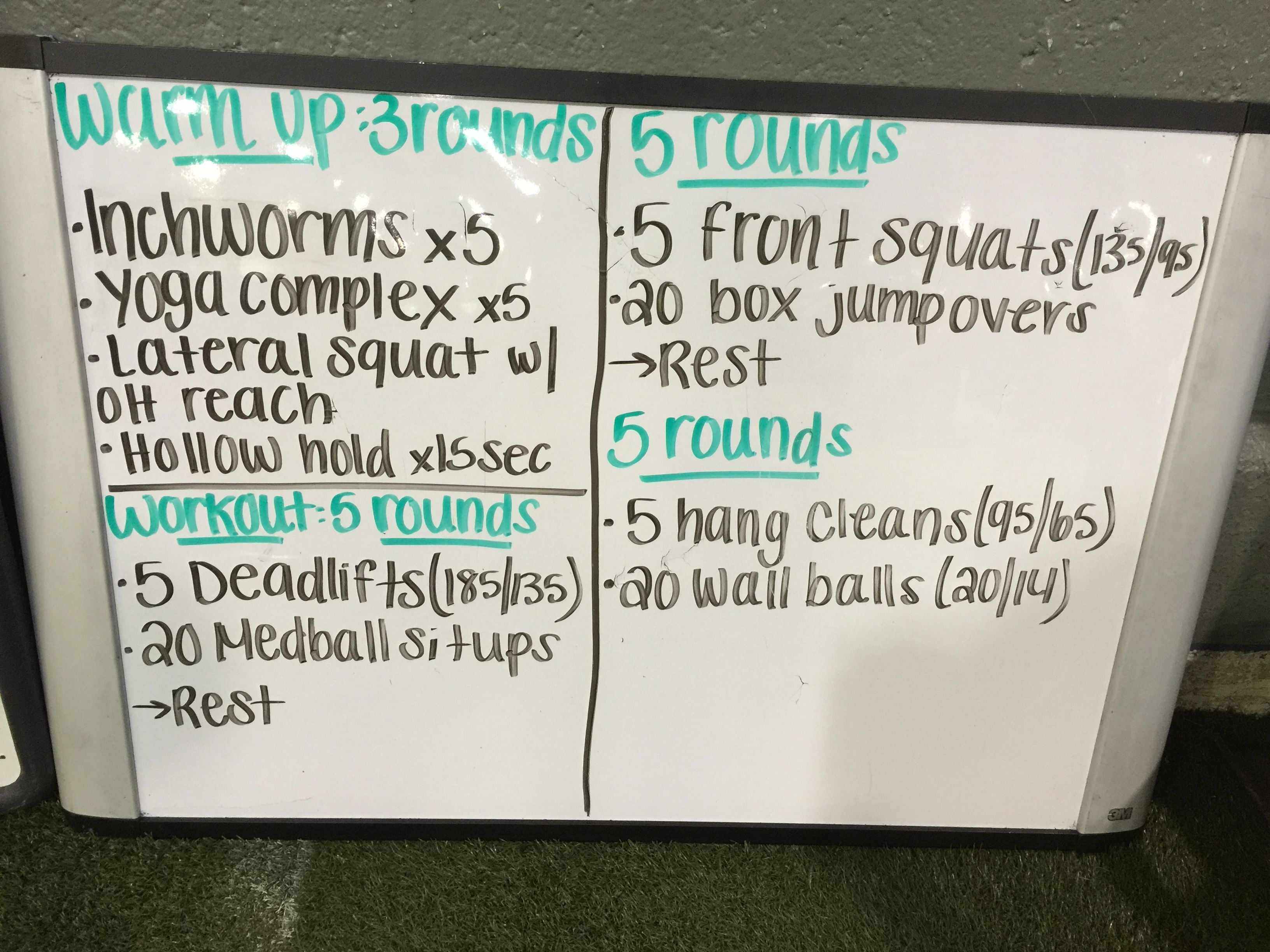 Awesome HIIT class! Barbell work was by far the easy part. Let's do more!