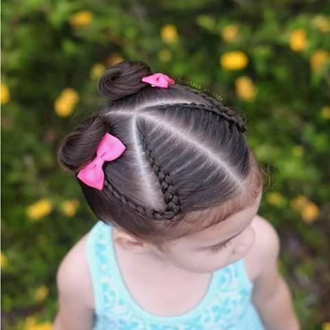 Imagen perfecta peinados con trenzas para niñas Imagen de cortes de pelo consejos - 20 peinados con trenzas para niñas muy hermosos ¡Los ...