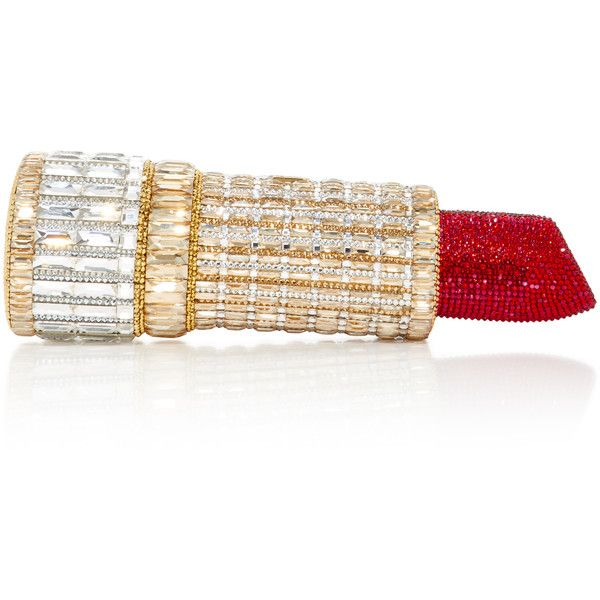 differently highly coveted range of beautiful in colour Judith Leiber Couture Seductress Lipstick Clutch (23.455 RON ...