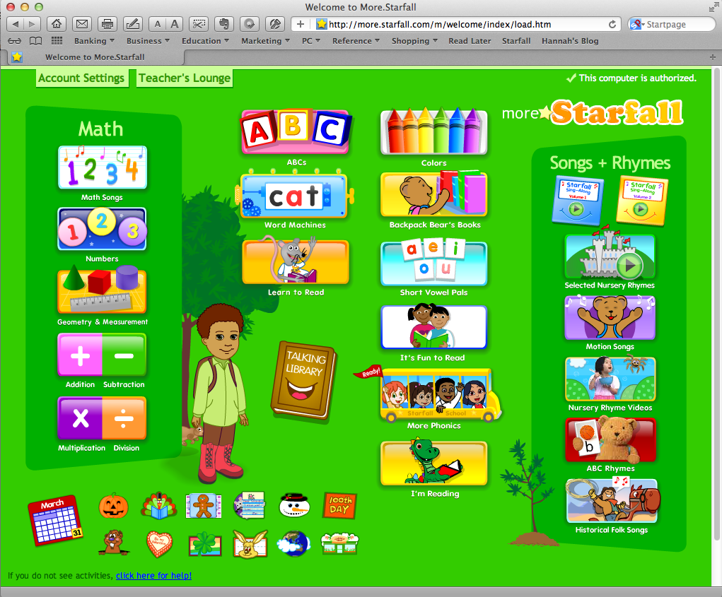 starfall math more starfall a great learning web site for chrildren