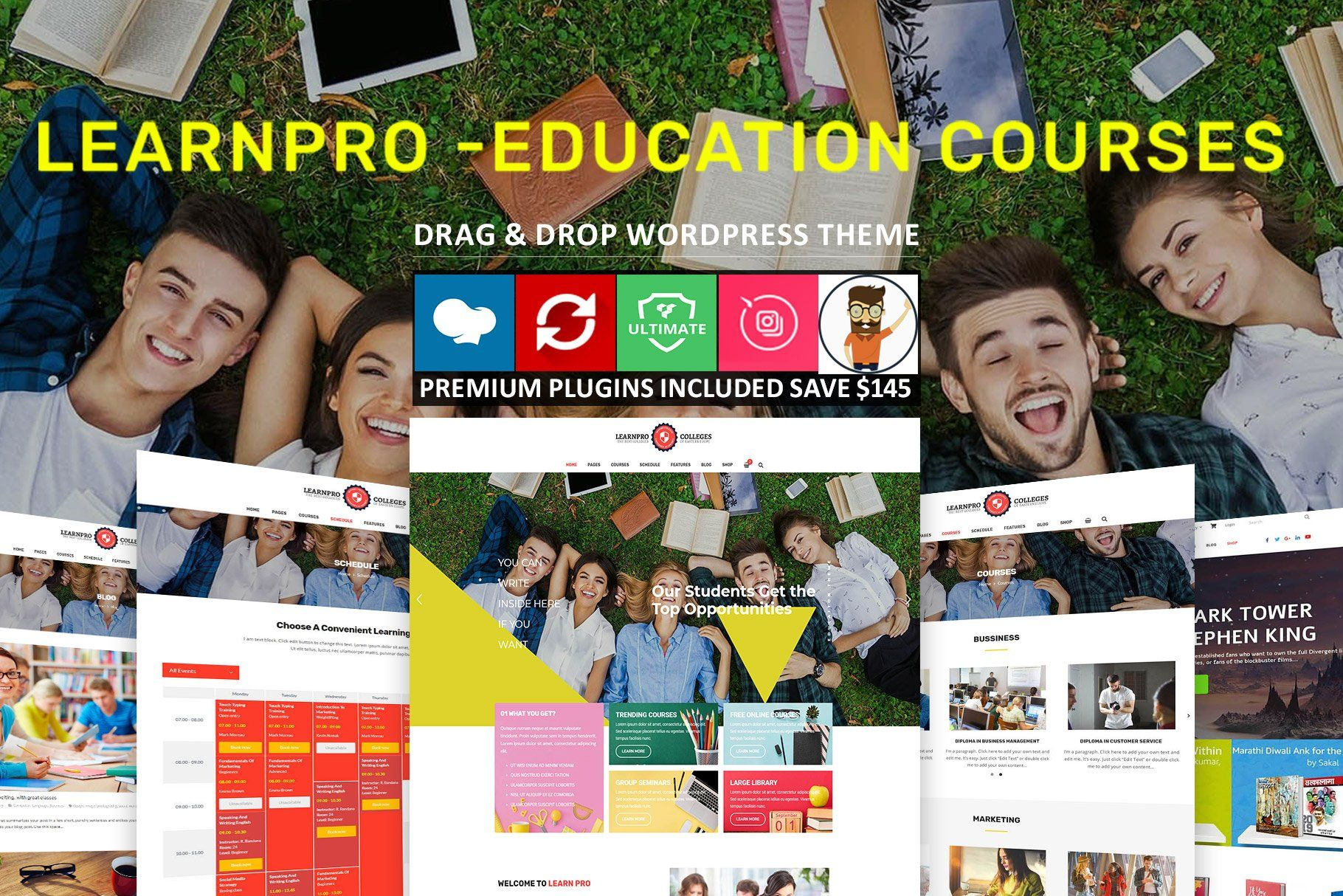 Learnpro Education Courses Theme Education Theme Learnpro Ad