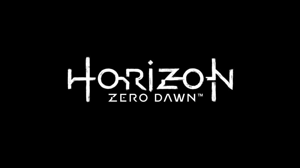 Video Game Horizon Zero Dawn Logo Wallpaper Horizon Zero Dawn Dawn Images Lettering
