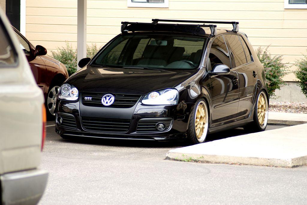 Roof Racked Vw Rabbit Roof Rack Volkswagen