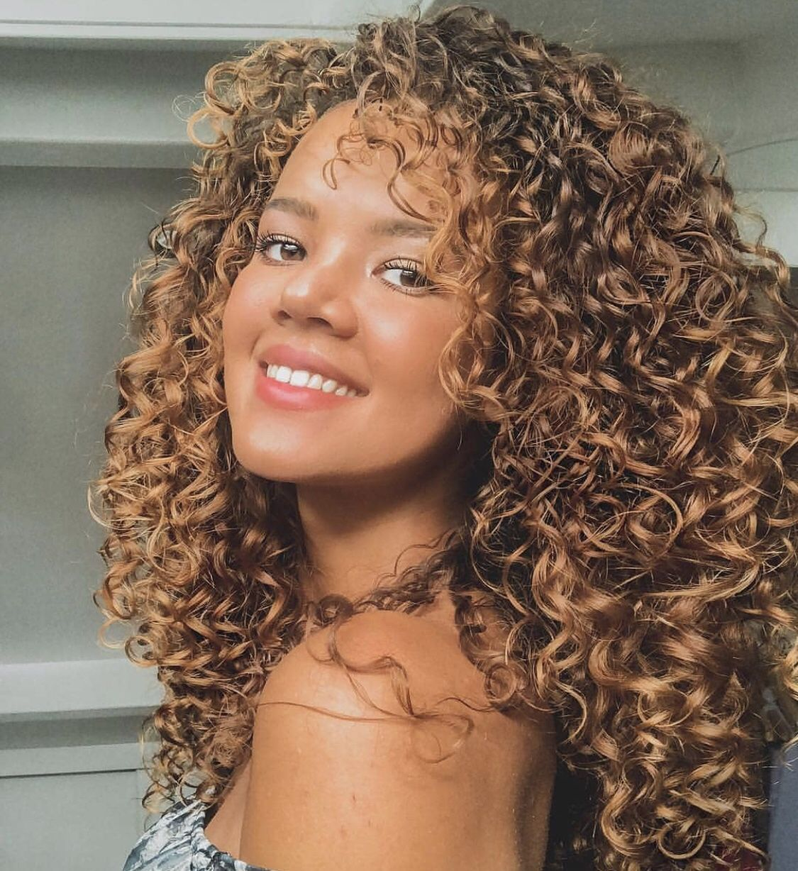 Bouncy Blonde Short Hairstyle Curls Click The Link To See More