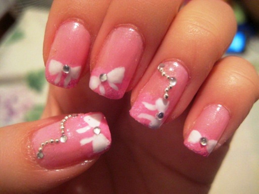 15 spring nail art ideas 2017 best nail arts 2016 2017 25 gel nail designs for attracting performance prinsesfo Choice Image