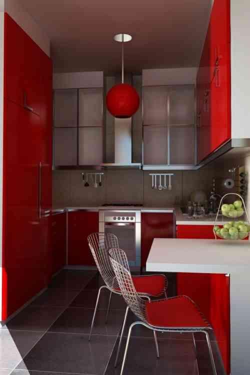 50 idées originales pour la déco cuisine rouge à vous faire découvrir