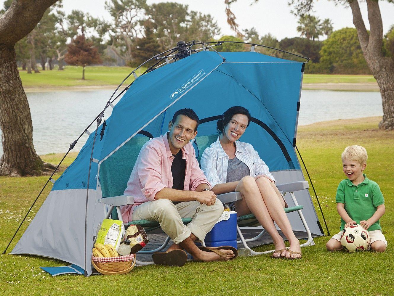 Costco Lightspeed Outdoor® Laguna Sun Shelter with Side Wall  sc 1 st  Pinterest & Laguana Quick Shelter with Sidewall in the park | Lightspeed ...