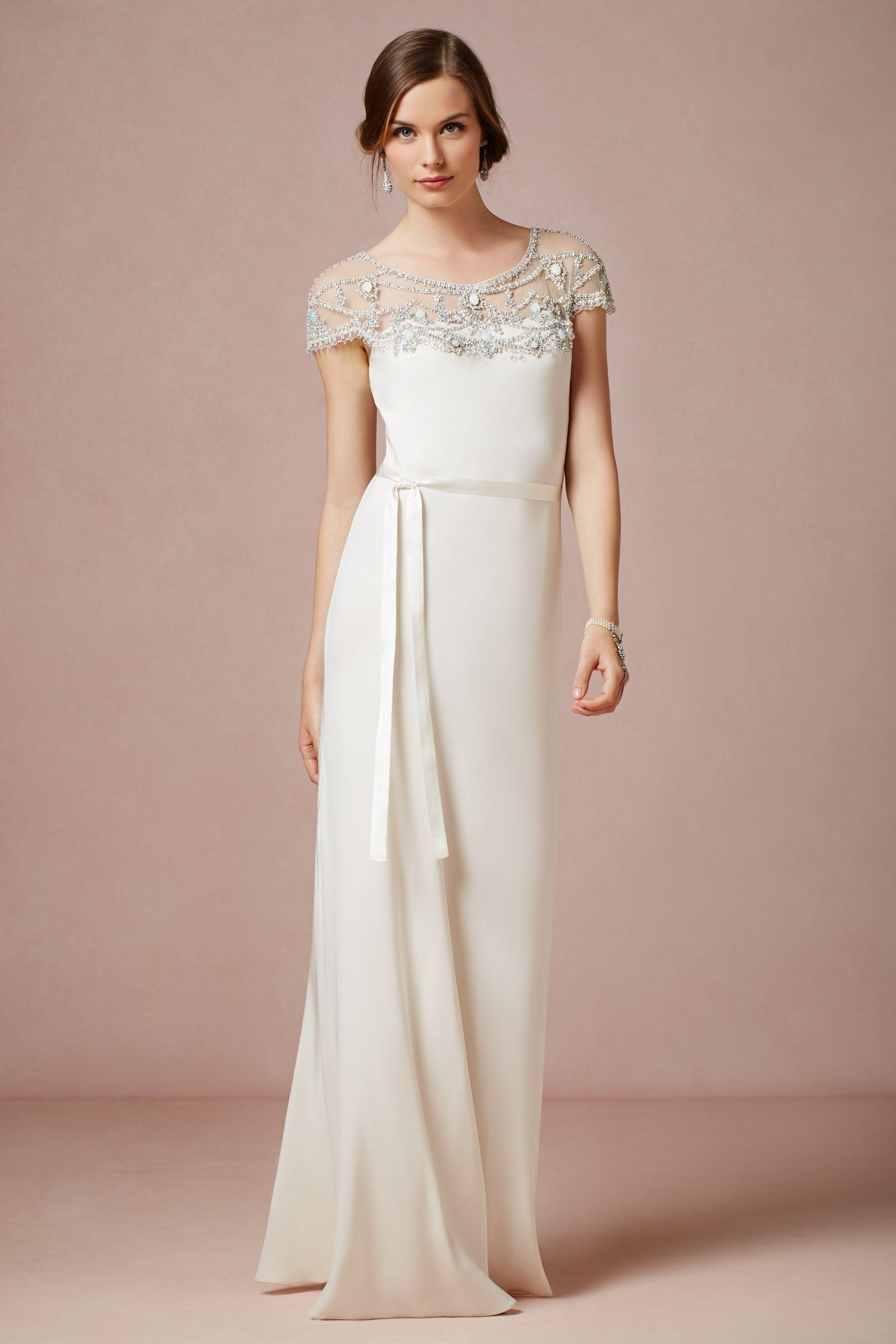 Harlow Gown - BHLDN | Dream Wedding | Pinterest | Novios, Vestiditos ...