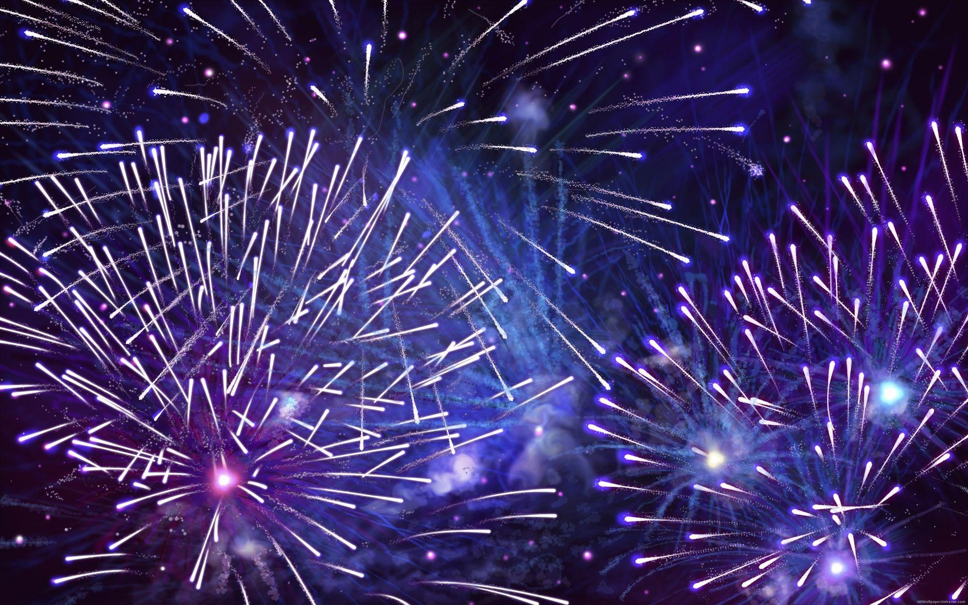 Happy New Year Fireworks Hd Wallpaper Http Www Hdwallpaperuniverse Com Happy New Year Fireworks Fireworks Wallpaper Fireworks Background New Year Fireworks