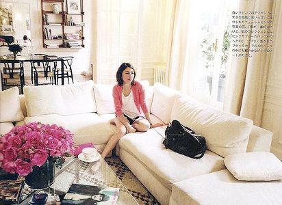 Sofia Coppola S Paris Apartment Images Photography By Andrew Durham For Vogue