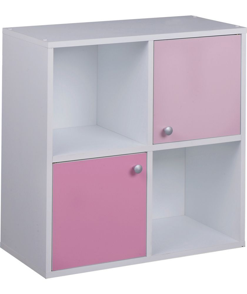 Buy Phoenix Half Door Storage Cubes - Pink on White at Argos.co.uk - Your Online Shop for Storage units, Children's toy boxes and storage.