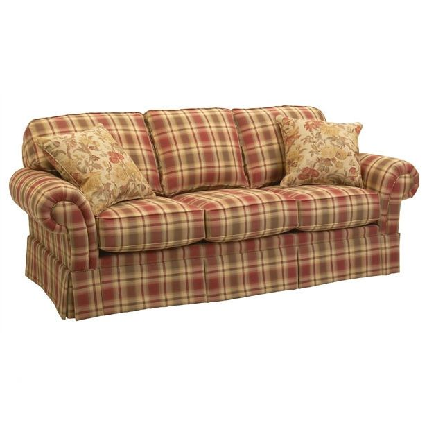 I Want This Country Sofas Country Living Room Furniture Plaid Sofa