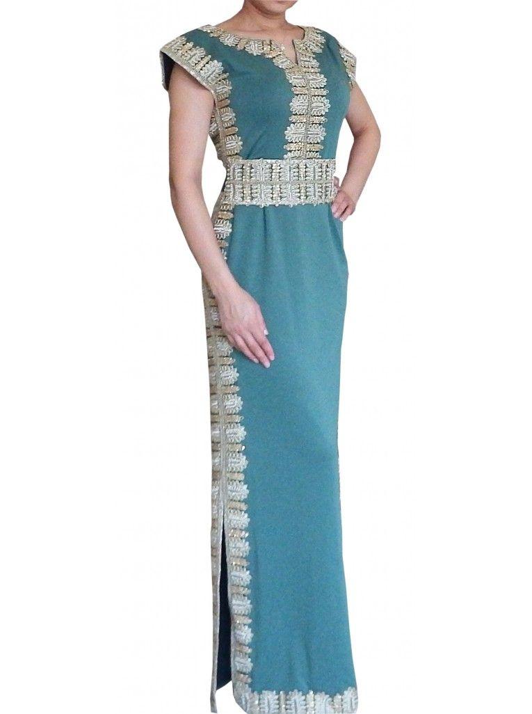 Robe De Dubai Robe Dubai Robe Orientale Caftan De Dubai Caftan Abaya Fashion Couture Dresses