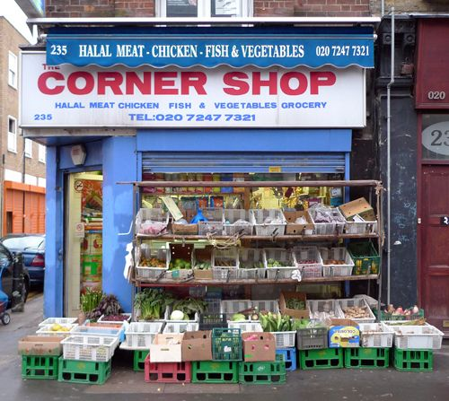 Corner Shop Whitechapel High Street E1 Corner Shops Kids Nutrition Shopping