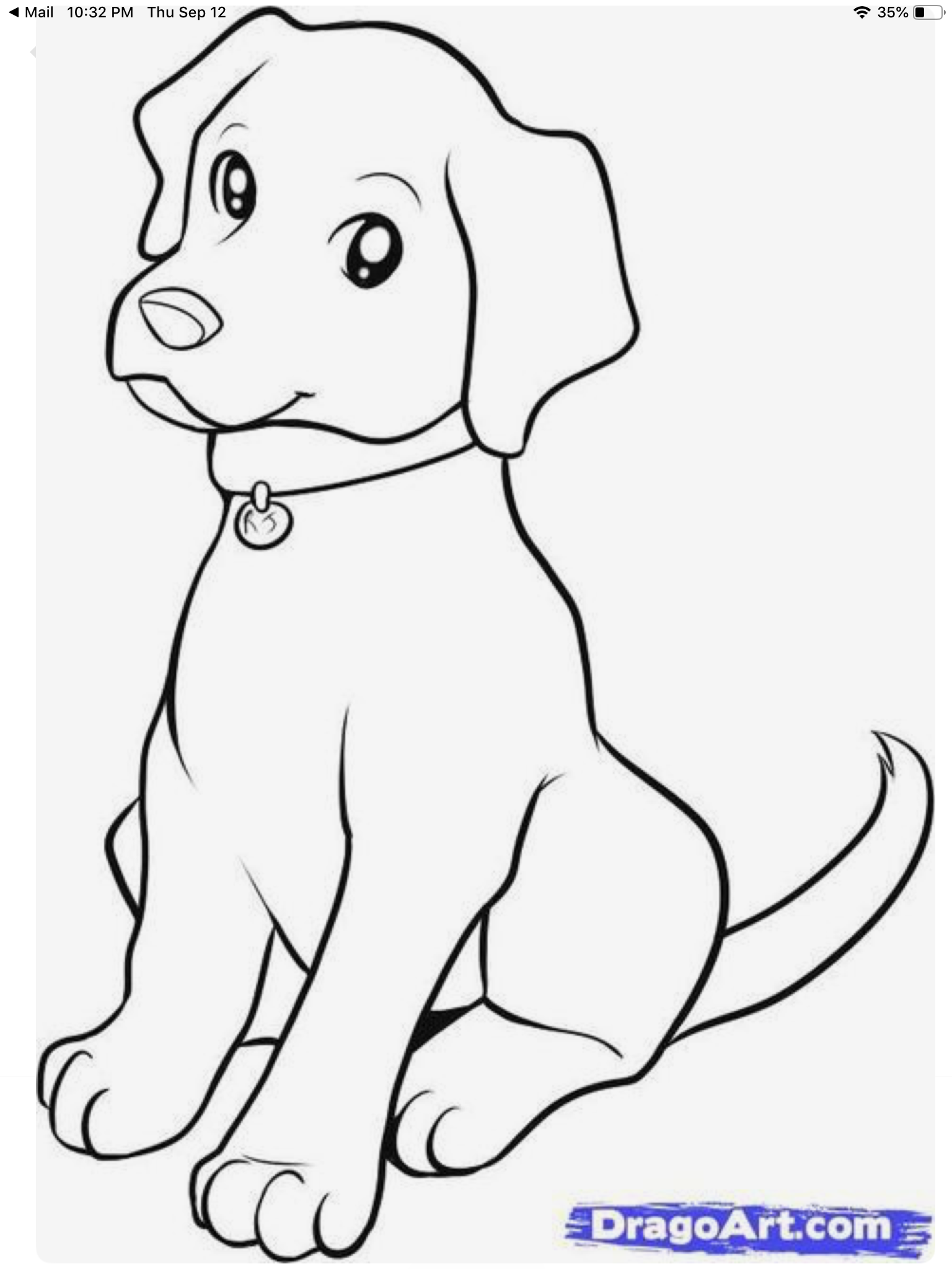 Pin By Emi Moooooo On Diy Crafts Puppy Coloring Pages Dog Drawing For Kids Dog Coloring Page [ 2048 x 1536 Pixel ]