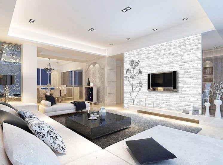 Rigips Raumteiler brick wall wall paper wall print decal wall deco indoor wall mural