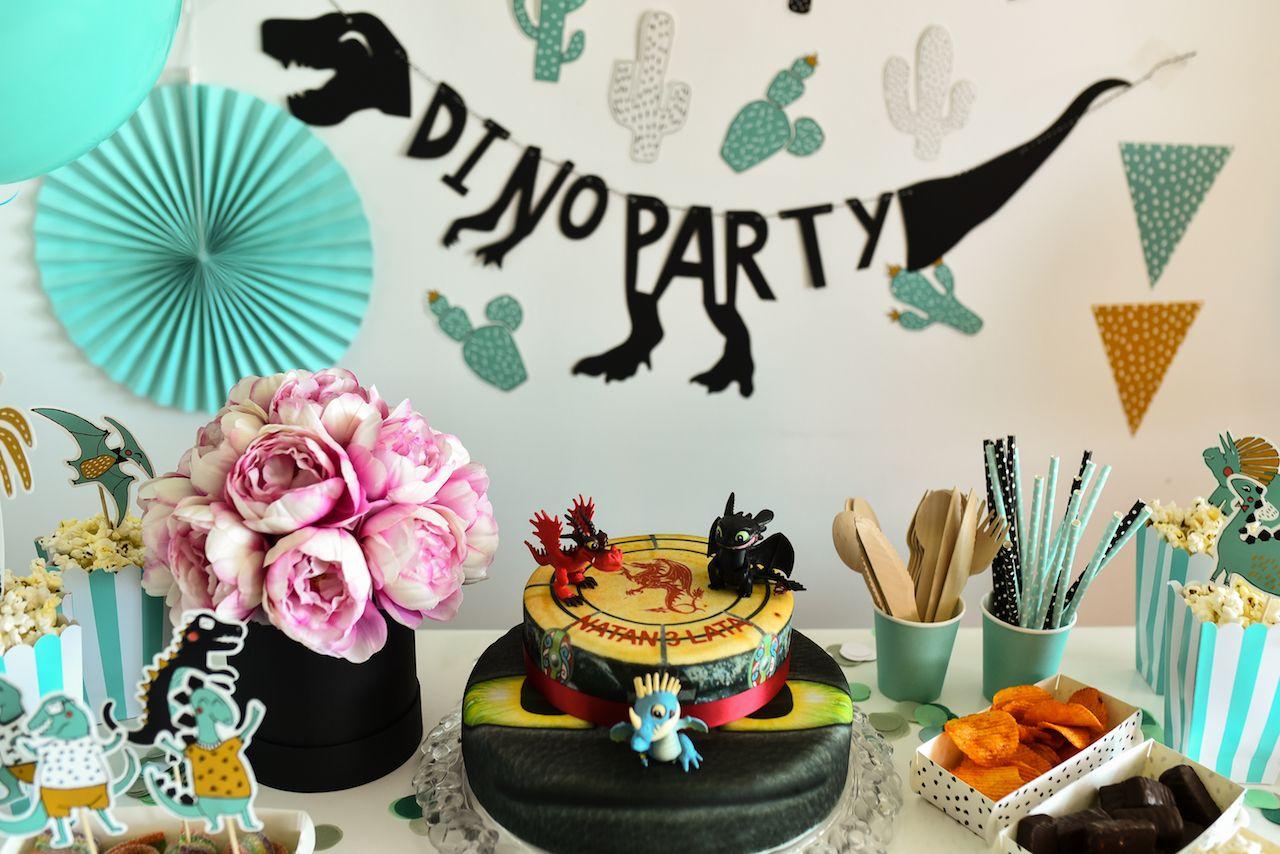 Urodziny W Stylu Dino Party Urodziny Dinozaury Balony