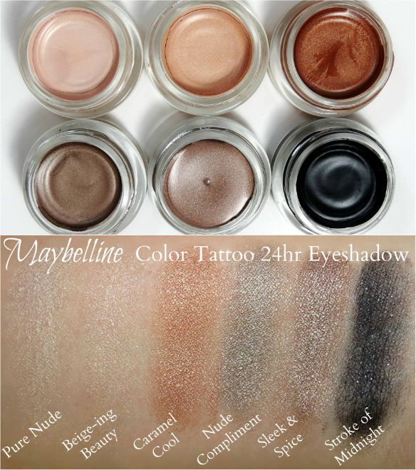 Top 10 Drugstore Products To Take Back To School Maybelline Color Tattoo Maybelline Eyeshadow Color Tattoo Eyeshadow