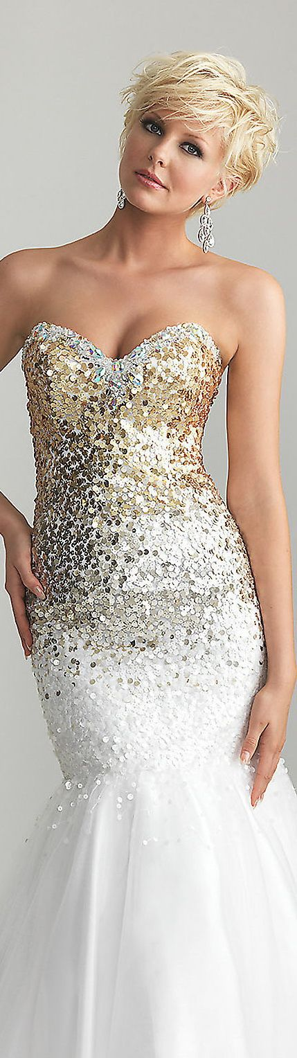 Prom dress | Fine Haircut Styles | Pinterest | Frisur, Lange kleider ...
