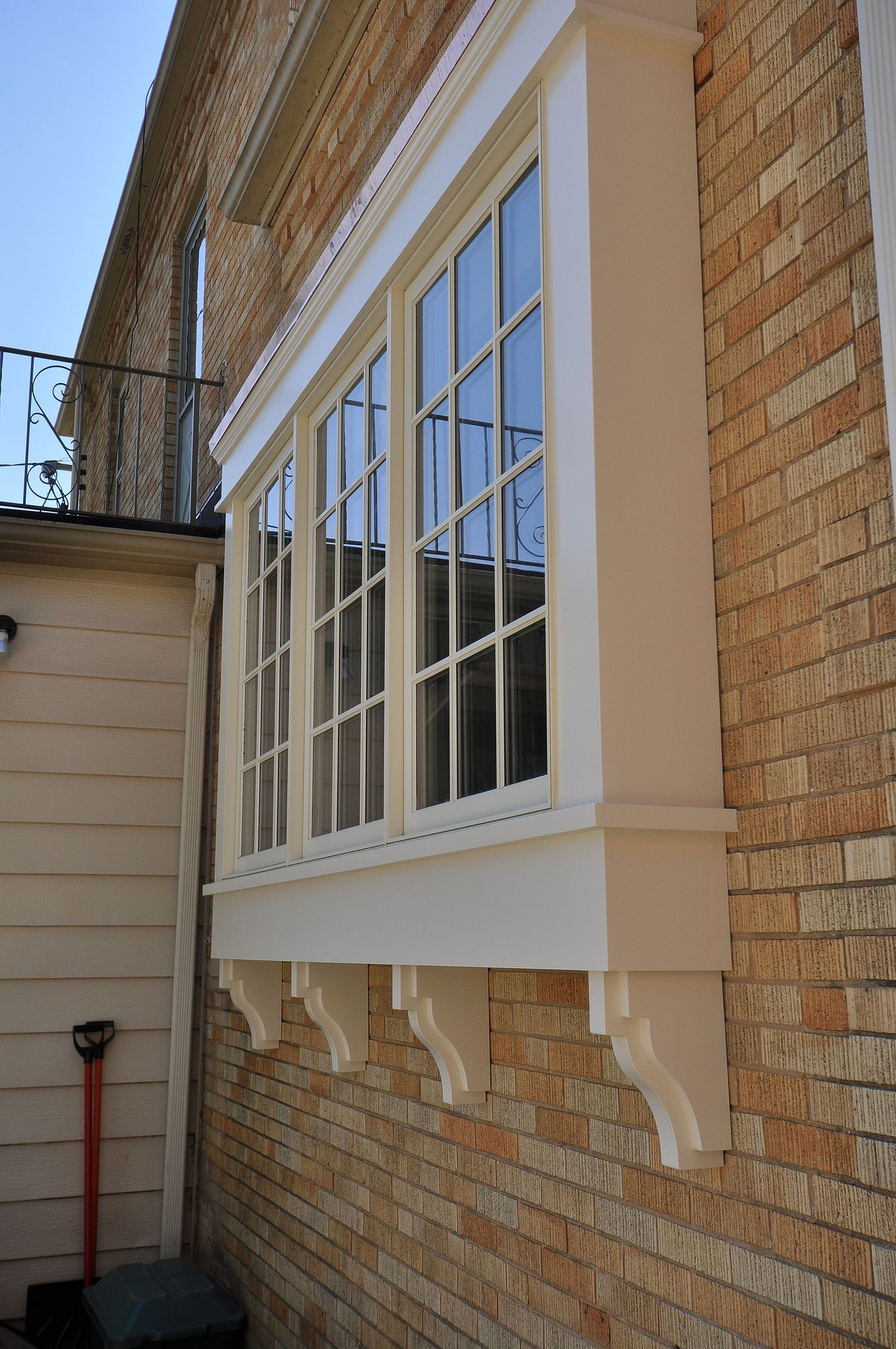 Deluxe with dormer transom windows and cupola - Curb Appeal