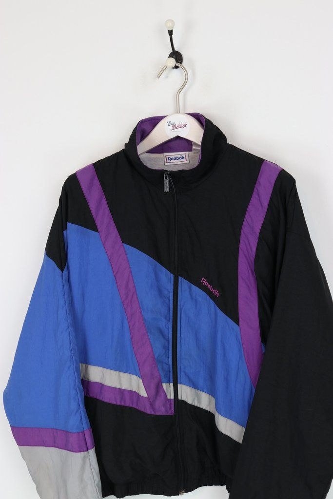 VINTAGE 1980S ADIDAS Equipment Till Tracksuit Top Shell Suit