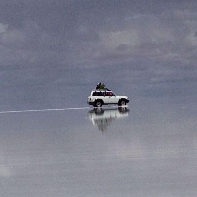 Salt lakes, Bolivia