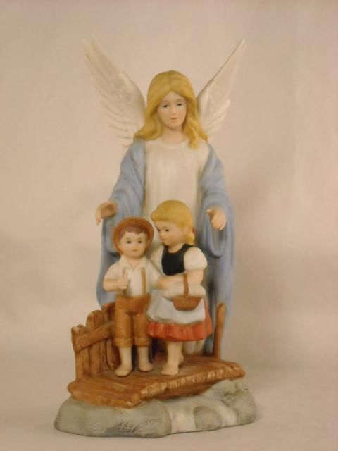 Homco Home Interiors Figurines Guardian Angel 8772