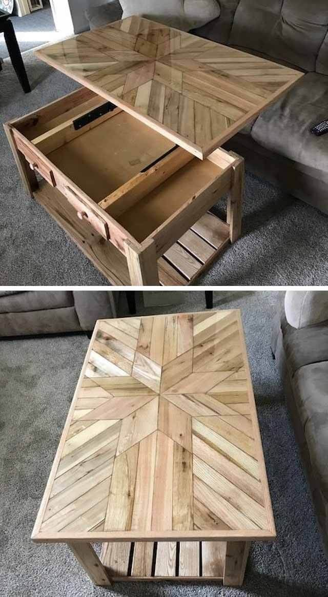 43 Profitable Wooden Pallet Projects Ideas Avec Images Palette Bois Meuble Bois Palette