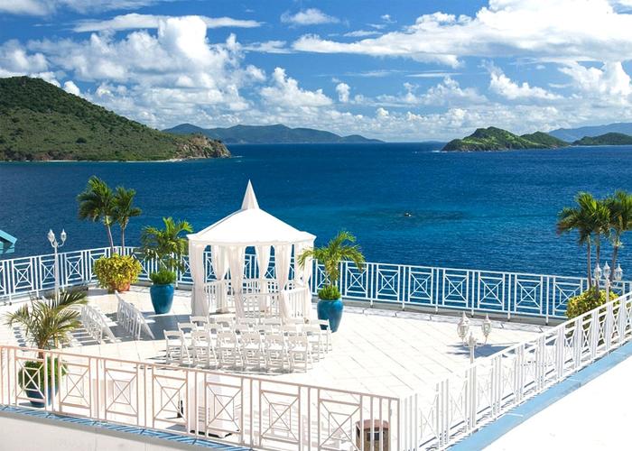 Accommodations Resort Destination Wedding St Thomas Venues Waterfront Decorations