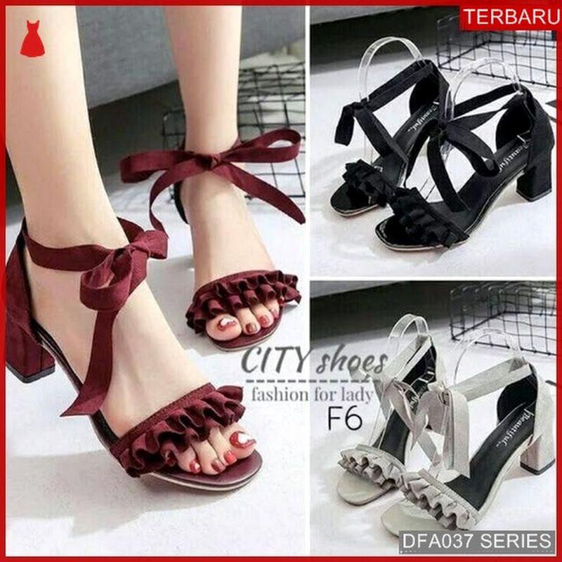 Dfa037m59 Ml11 Sandal Heels Ashalina Wanita Hak Dewasa Tahu Suede Ashalina Heels Sandals Heels Shoes