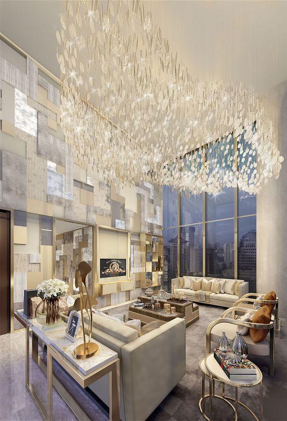 Formal Reception, The Apartment, Singapore - Morpheus London 2 - decoracion de interiores salas