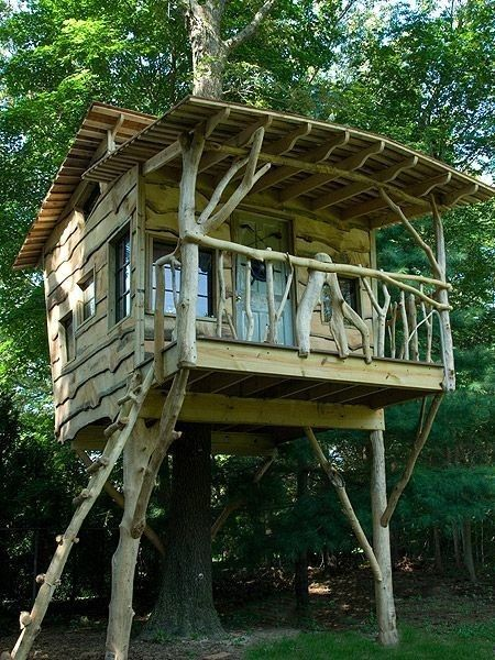 113 Wonderful Tree House DIY For More Family Time
