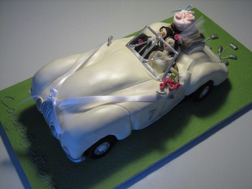 Austin Healey Convertible - honeymoon/wedding car!