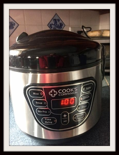 The Cook's Companion Wonder Pot is one of the kitchen appliances that every home should own. It cooks, it's easy to clean and keeps food warm.
